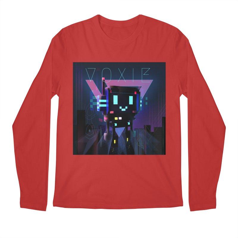 FY - Voxie Cyberpunk 2 Men's Regular Longsleeve T-Shirt by My pixEOS Artist Shop