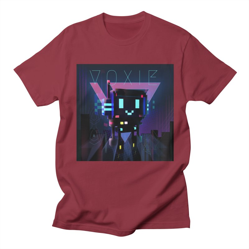 FY - Voxie Cyberpunk 2 Men's Regular T-Shirt by My pixEOS Artist Shop