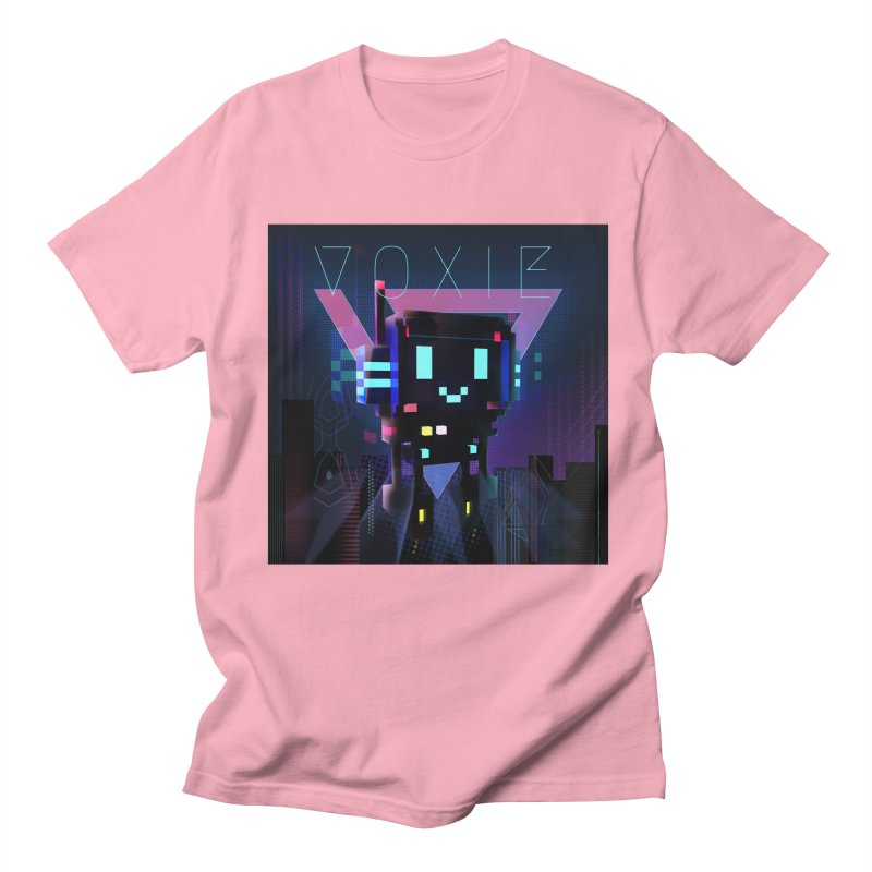 FY - Voxie Cyberpunk 2 Men's Regular T-Shirt by My pixEOS Artist Shop