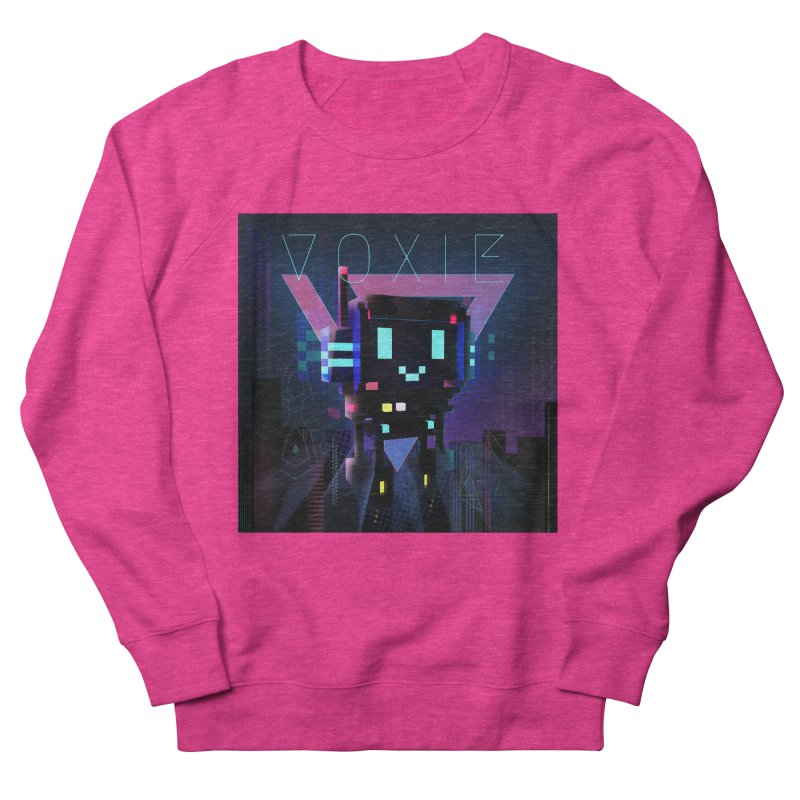 FY - Voxie Cyberpunk 2 Women's French Terry Sweatshirt by My pixEOS Artist Shop