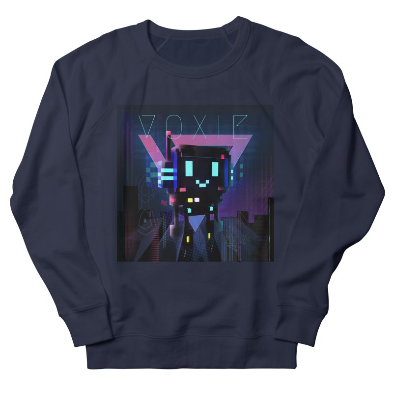 FY - Voxie Cyberpunk 2 Men's French Terry Sweatshirt by My pixEOS Artist Shop
