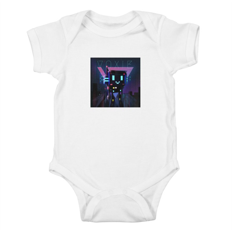 FY - Voxie Cyberpunk 2 Kids Baby Bodysuit by My pixEOS Artist Shop