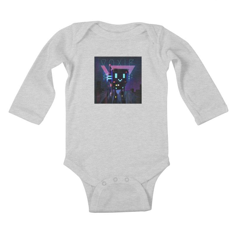 FY - Voxie Cyberpunk 2 Kids Baby Longsleeve Bodysuit by My pixEOS Artist Shop