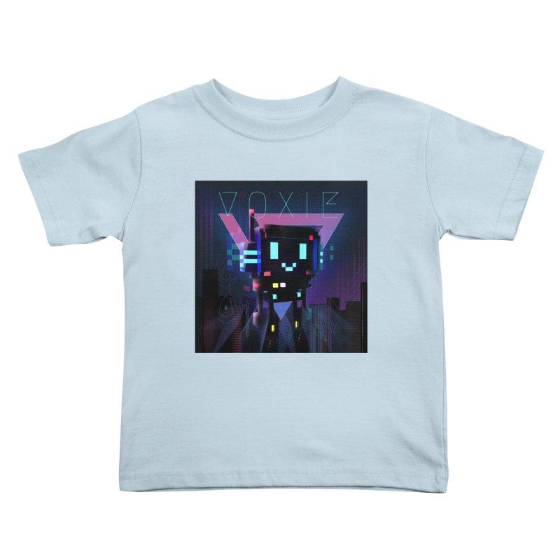 FY - Voxie Cyberpunk 2 Kids Toddler T-Shirt by My pixEOS Artist Shop
