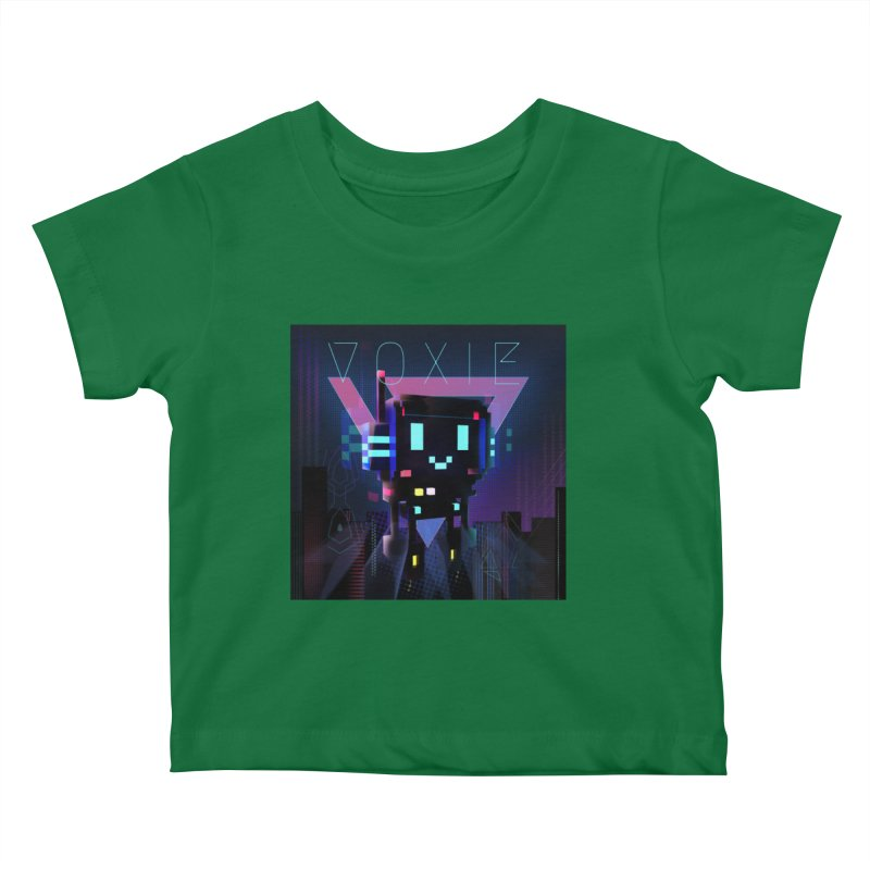 FY - Voxie Cyberpunk 2 Kids Baby T-Shirt by My pixEOS Artist Shop