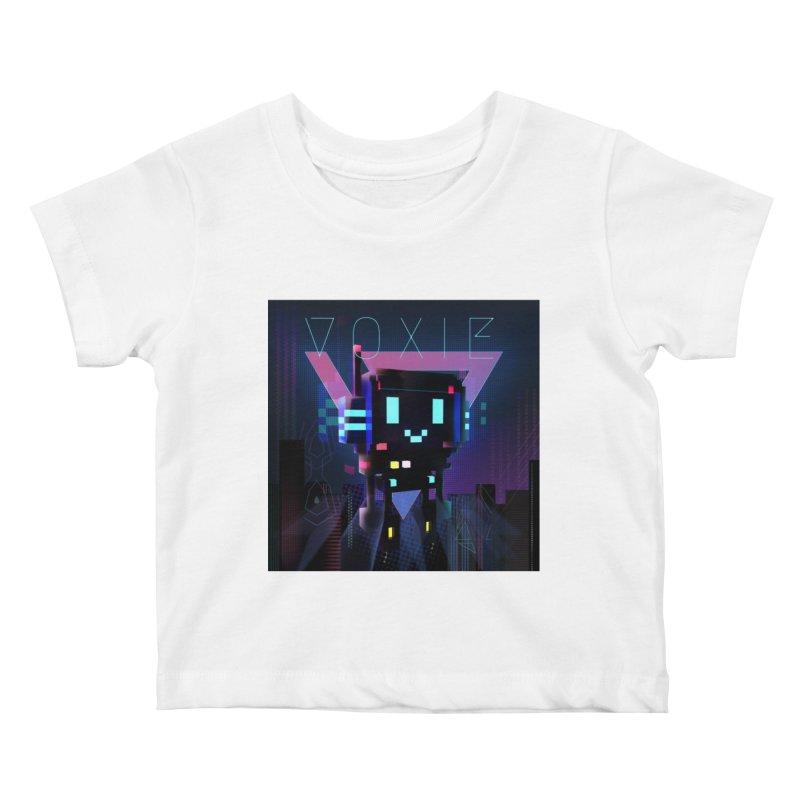 FY - Voxie Cyberpunk 2 Kids Baby T-Shirt by My pixEOS Artist Shop