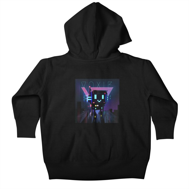 FY - Voxie Cyberpunk 2 Kids Baby Zip-Up Hoody by My pixEOS Artist Shop