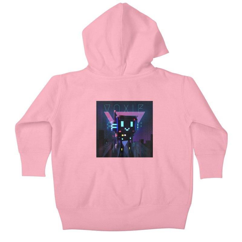 FY - Voxie Cyberpunk 2 Kids Baby Zip-Up Hoody by My pixEOS Artist Shop