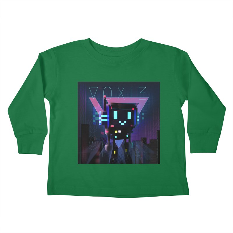 FY - Voxie Cyberpunk 2 Kids Toddler Longsleeve T-Shirt by My pixEOS Artist Shop