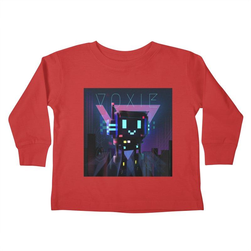 FY - Voxie Cyberpunk 2 Kids Toddler Longsleeve T-Shirt by My pixEOS Artist Shop
