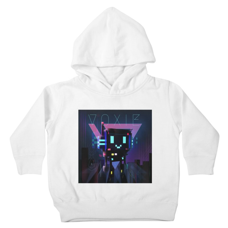 FY - Voxie Cyberpunk 2 Kids Toddler Pullover Hoody by My pixEOS Artist Shop