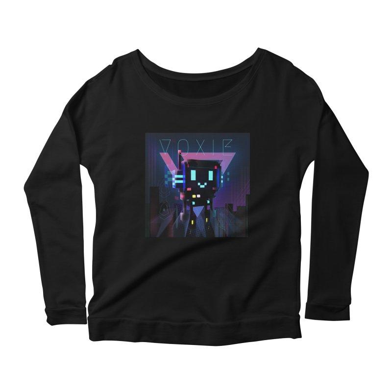 FY - Voxie Cyberpunk 2 Women's Scoop Neck Longsleeve T-Shirt by My pixEOS Artist Shop