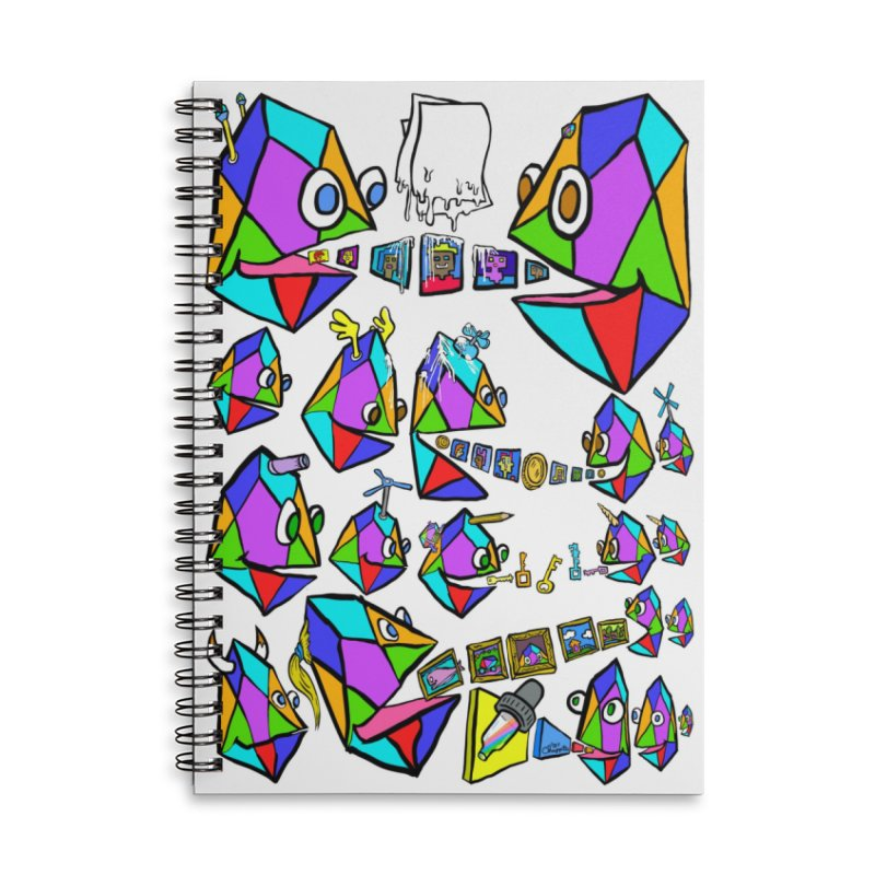 JC - Epic pixEOS Gathering Accessories Lined Spiral Notebook by My pixEOS Artist Shop