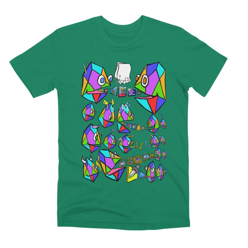 JC - Epic pixEOS Gathering Men's Premium T-Shirt by My pixEOS Artist Shop