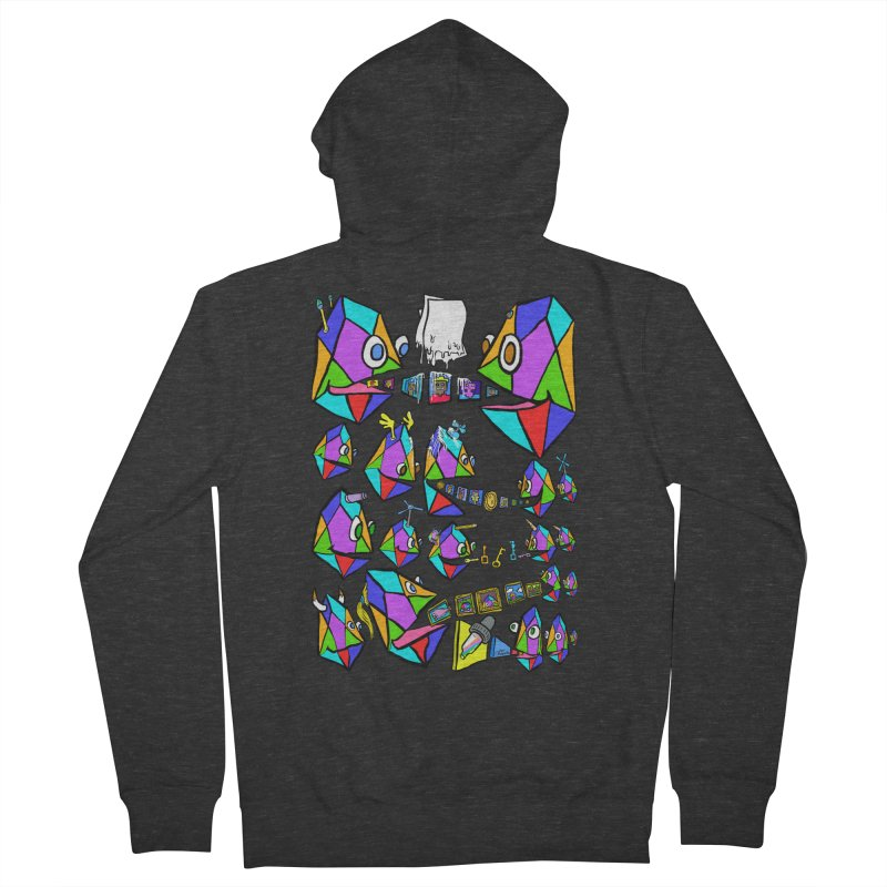 JC - Epic pixEOS Gathering Women's French Terry Zip-Up Hoody by My pixEOS Artist Shop
