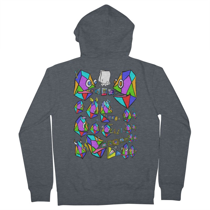 JC - Epic pixEOS Gathering Men's French Terry Zip-Up Hoody by My pixEOS Artist Shop