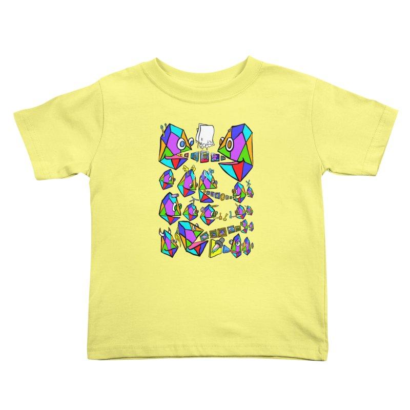 JC - Epic pixEOS Gathering Kids Toddler T-Shirt by My pixEOS Artist Shop