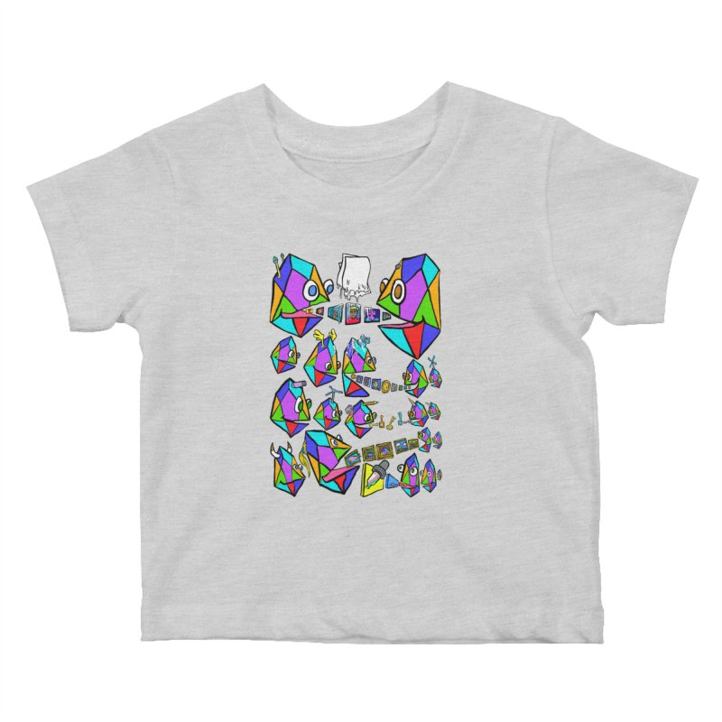 JC - Epic pixEOS Gathering Kids Baby T-Shirt by My pixEOS Artist Shop