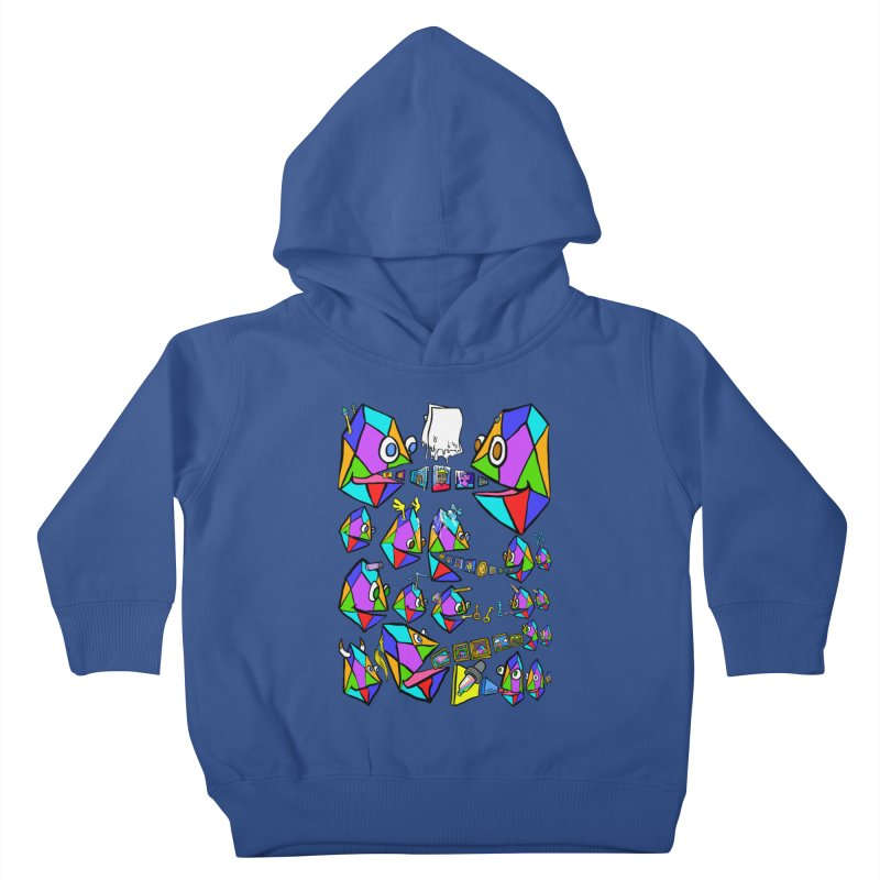 JC - Epic pixEOS Gathering Kids Toddler Pullover Hoody by My pixEOS Artist Shop
