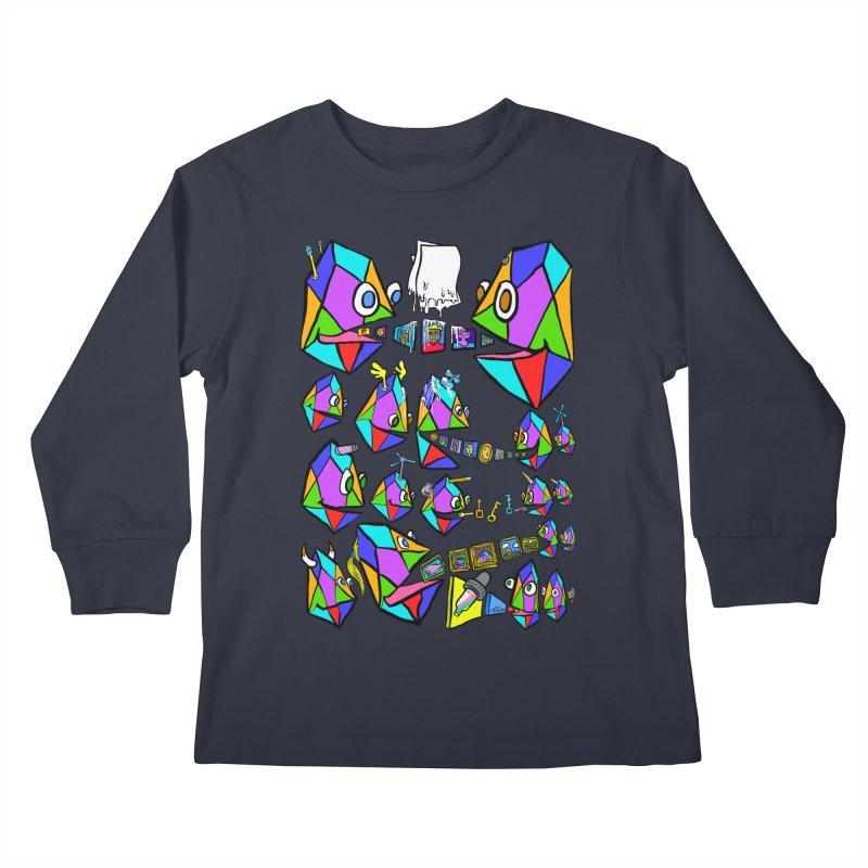 JC - Epic pixEOS Gathering Kids Longsleeve T-Shirt by My pixEOS Artist Shop