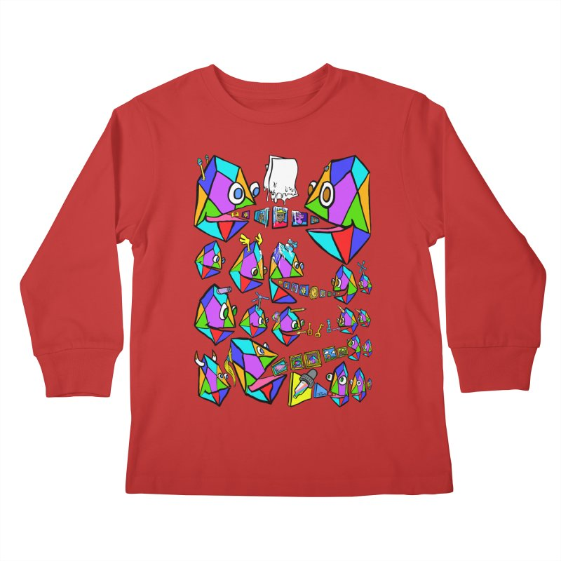 JC - Epic pixEOS Gathering Kids Longsleeve T-Shirt by My pixEOS Artist Shop