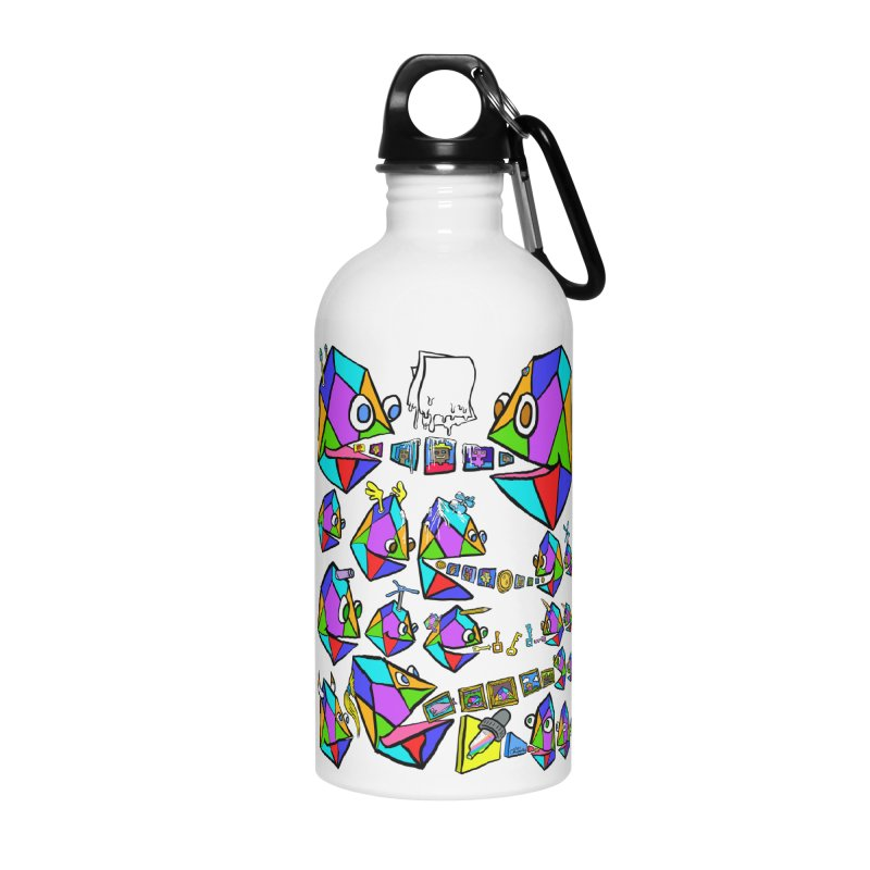 JC - Epic pixEOS Gathering Accessories Water Bottle by My pixEOS Artist Shop