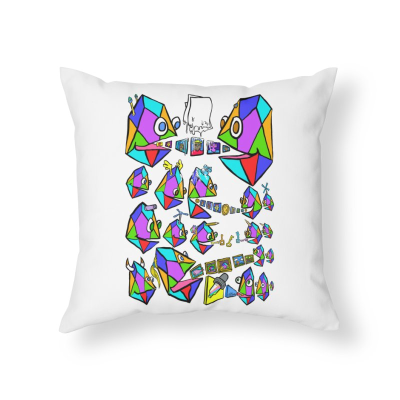 JC - Epic pixEOS Gathering Home Throw Pillow by My pixEOS Artist Shop