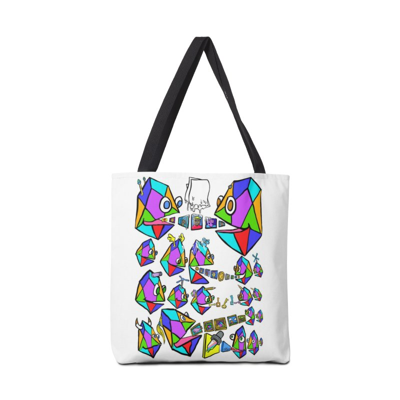 JC - Epic pixEOS Gathering Accessories Tote Bag Bag by My pixEOS Artist Shop