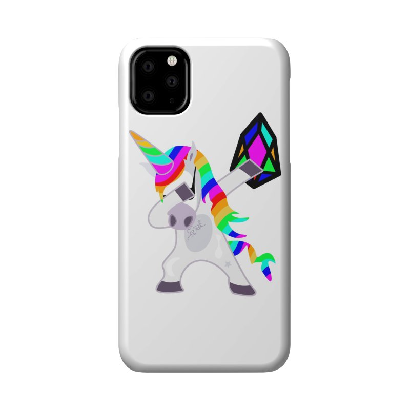 YM - Dabing Unicorn Accessories Phone Case by My pixEOS Artist Shop