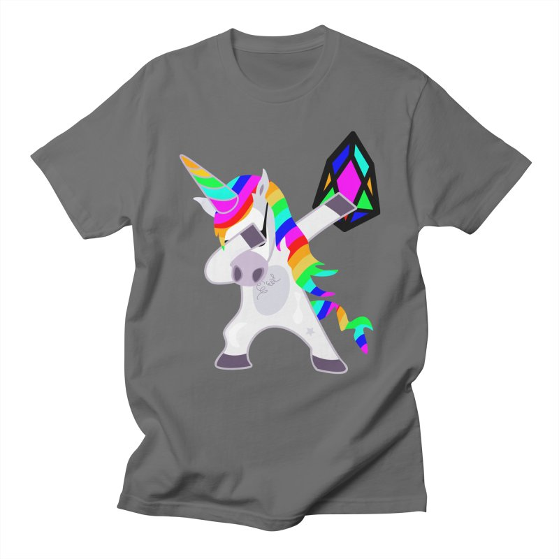 YM - Dabing Unicorn Men's T-Shirt by My pixEOS Artist Shop