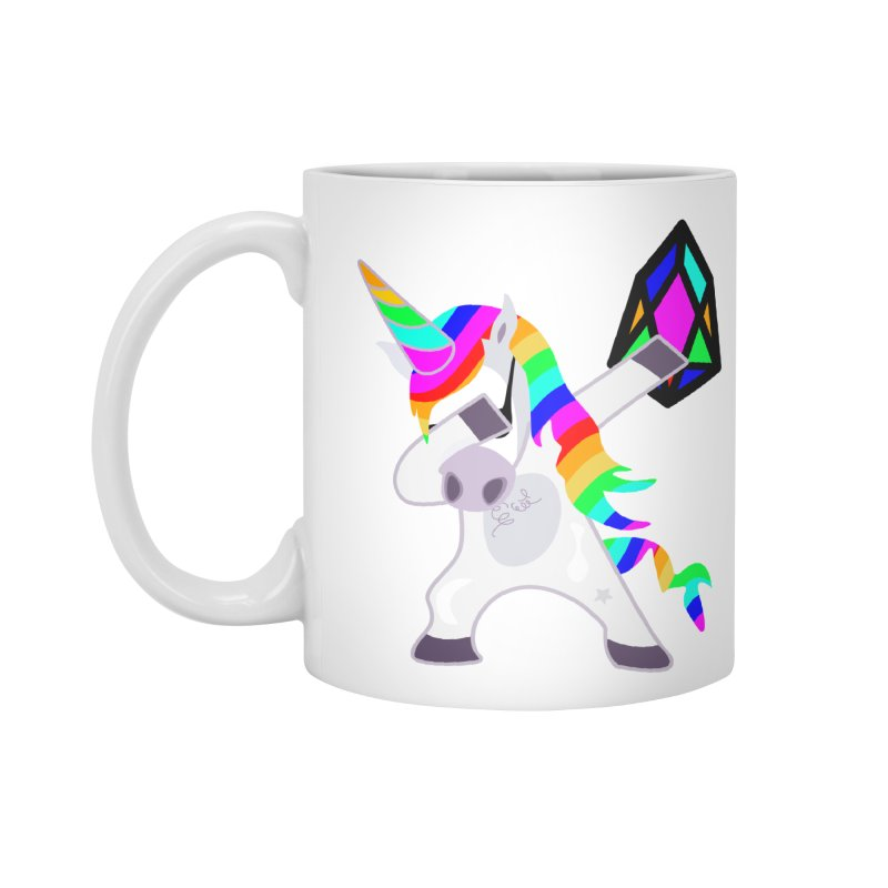 YM - Dabing Unicorn Accessories Standard Mug by My pixEOS Artist Shop