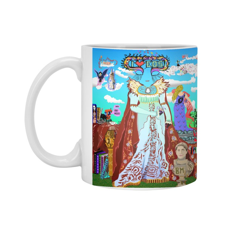 SB - Crypto Royalty Accessories Standard Mug by My pixEOS Artist Shop
