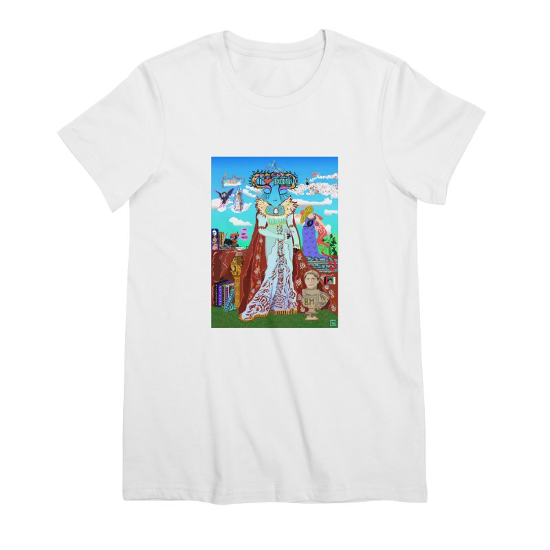 SB - Crypto Royalty Women's Premium T-Shirt by My pixEOS Artist Shop