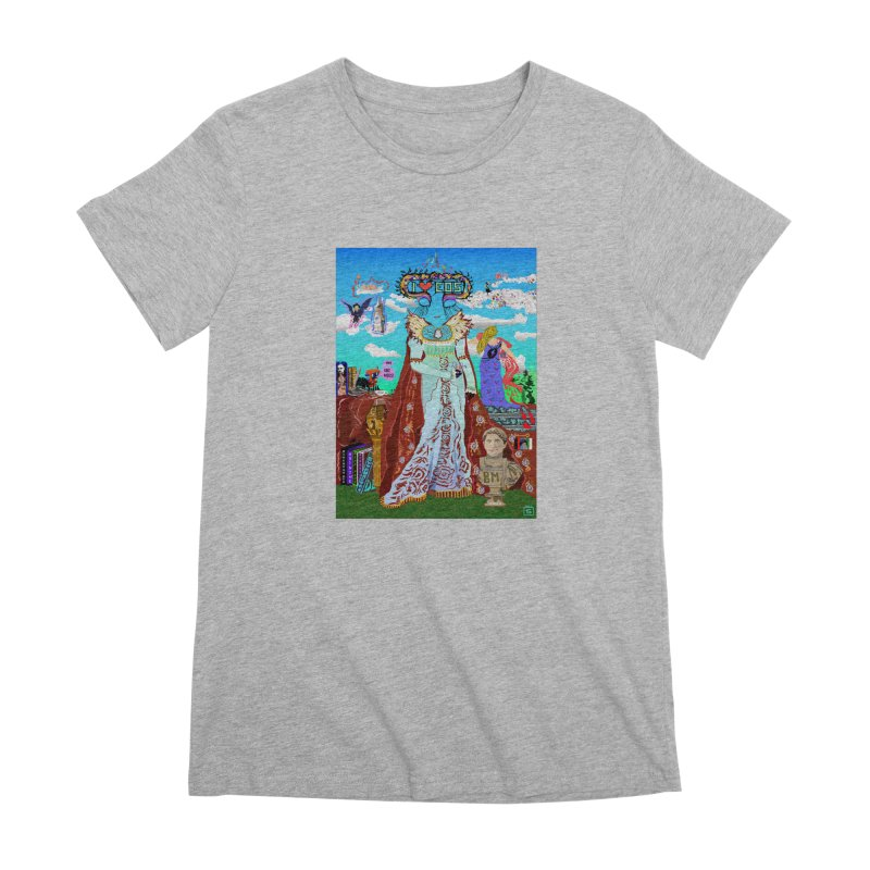 SB - Crypto Royalty Women's Premium T-Shirt by My pixEOS Artist Shop