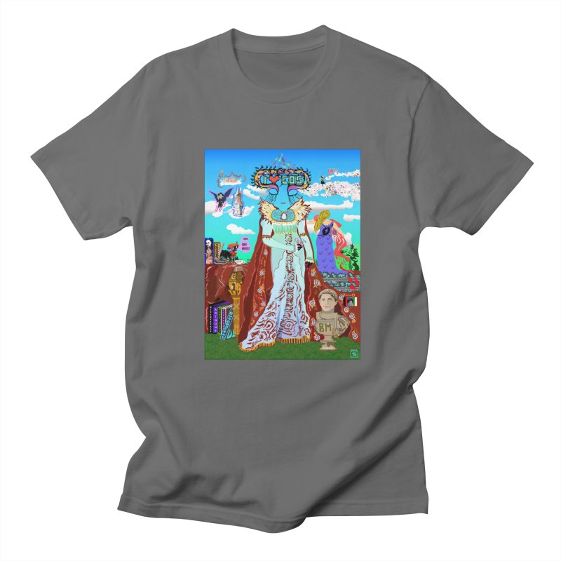 SB - Crypto Royalty Men's T-Shirt by My pixEOS Artist Shop