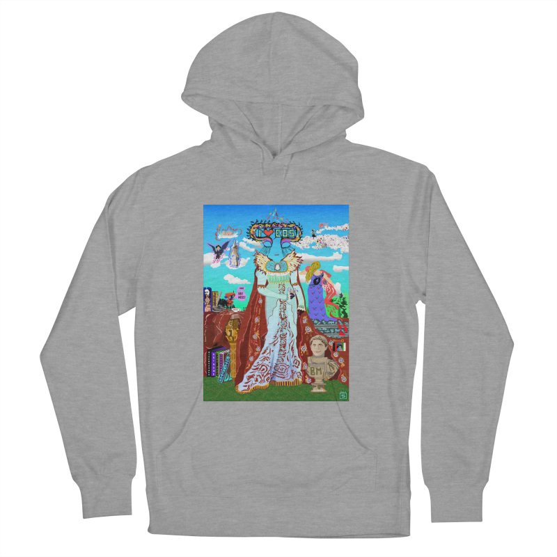 SB - Crypto Royalty Women's French Terry Pullover Hoody by My pixEOS Artist Shop