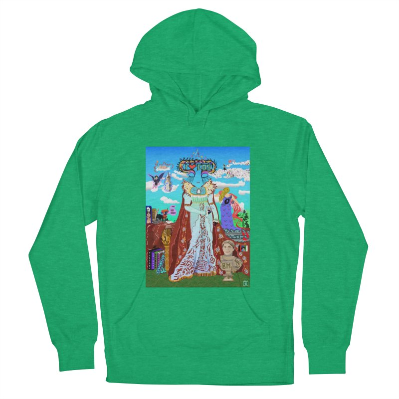 SB - Crypto Royalty Men's French Terry Pullover Hoody by My pixEOS Artist Shop