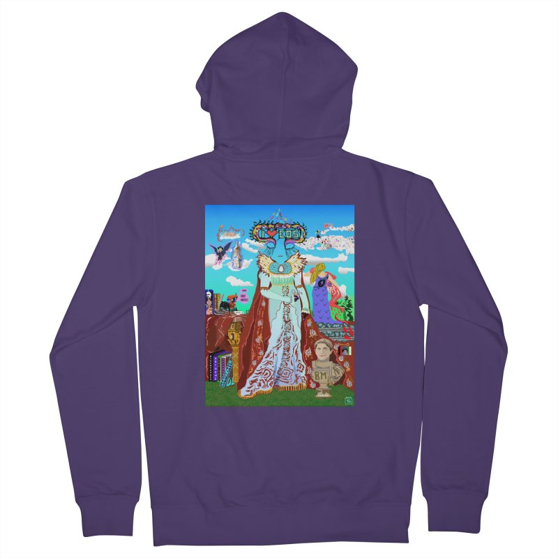 SB - Crypto Royalty Women's French Terry Zip-Up Hoody by My pixEOS Artist Shop