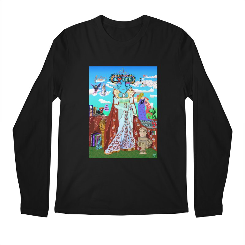 SB - Crypto Royalty Men's Regular Longsleeve T-Shirt by My pixEOS Artist Shop