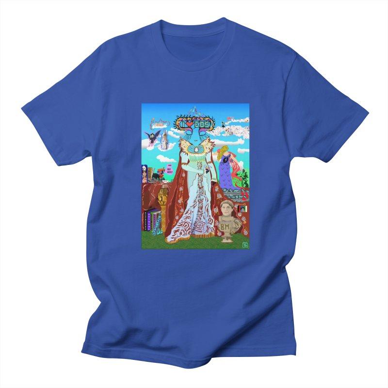 SB - Crypto Royalty Men's Regular T-Shirt by My pixEOS Artist Shop