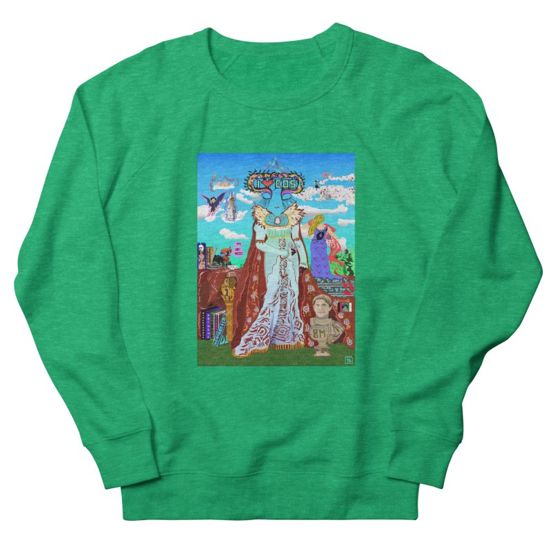 SB - Crypto Royalty Women's French Terry Sweatshirt by My pixEOS Artist Shop