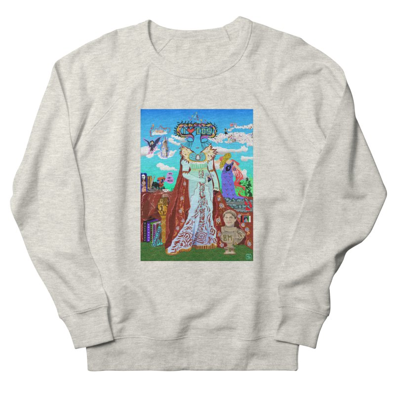 SB - Crypto Royalty Men's French Terry Sweatshirt by My pixEOS Artist Shop