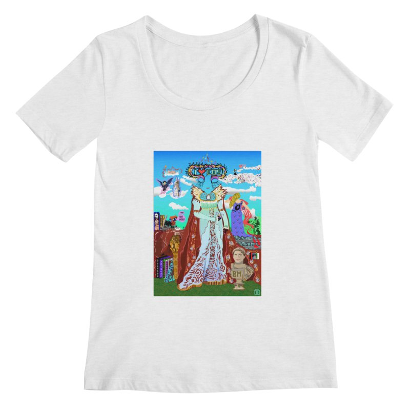 SB - Crypto Royalty Women's Regular Scoop Neck by My pixEOS Artist Shop