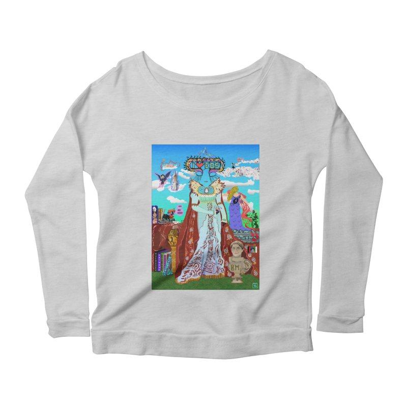 SB - Crypto Royalty Women's Scoop Neck Longsleeve T-Shirt by My pixEOS Artist Shop