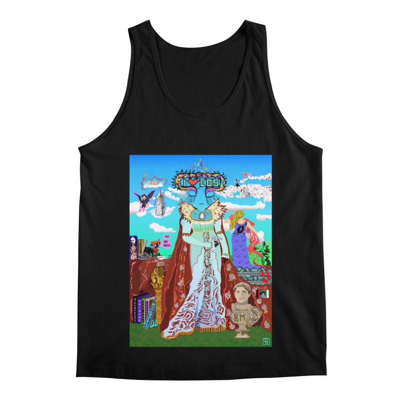 SB - Crypto Royalty Men's Regular Tank by My pixEOS Artist Shop