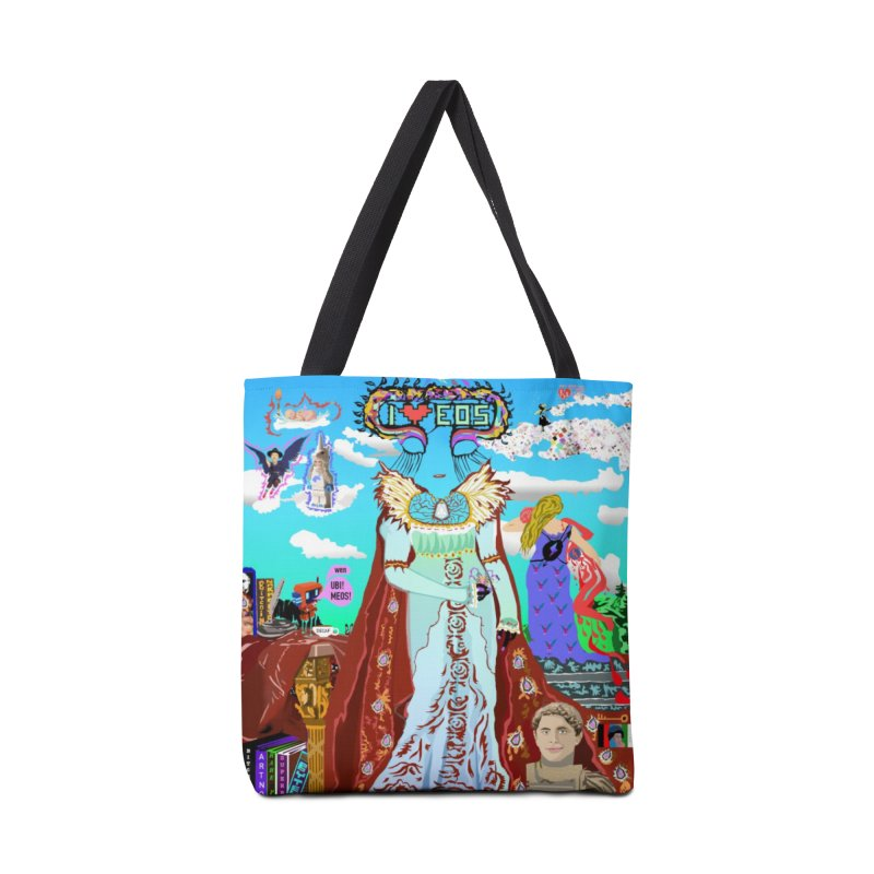 SB - Crypto Royalty Accessories Tote Bag Bag by My pixEOS Artist Shop