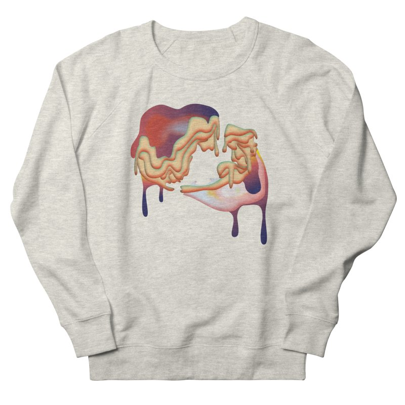 Drops Women's French Terry Sweatshirt by PIXLPA Artist Shop