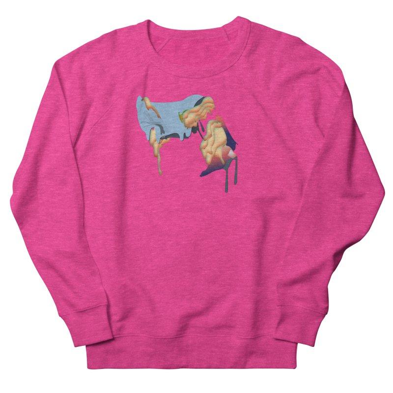 Drips Women's French Terry Sweatshirt by PIXLPA Artist Shop