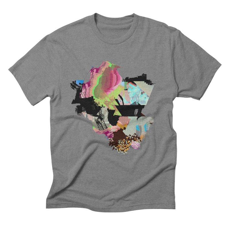 FRAM3BUFFER01 in Men's Triblend T-Shirt Grey Triblend by PIXLPA Artist Shop