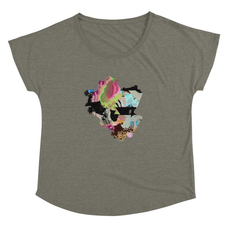 FRAM3BUFFER01 Women's Dolman Scoop Neck by PIXLPA Artist Shop
